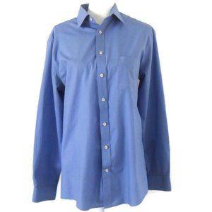 Stafford Men's Blue Dress Shirt